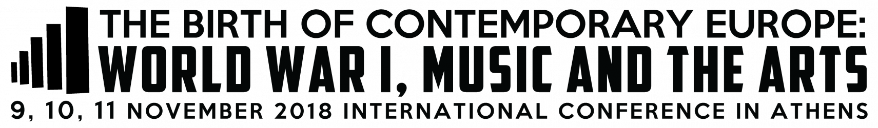 The Birth of Contemporary Europe: World War I, Music and the Arts